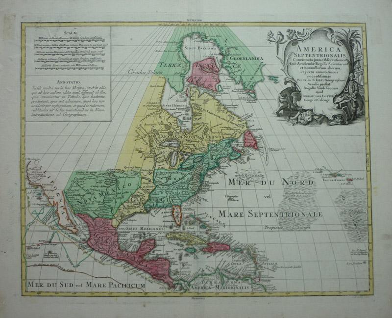 niagara fälle landkarte