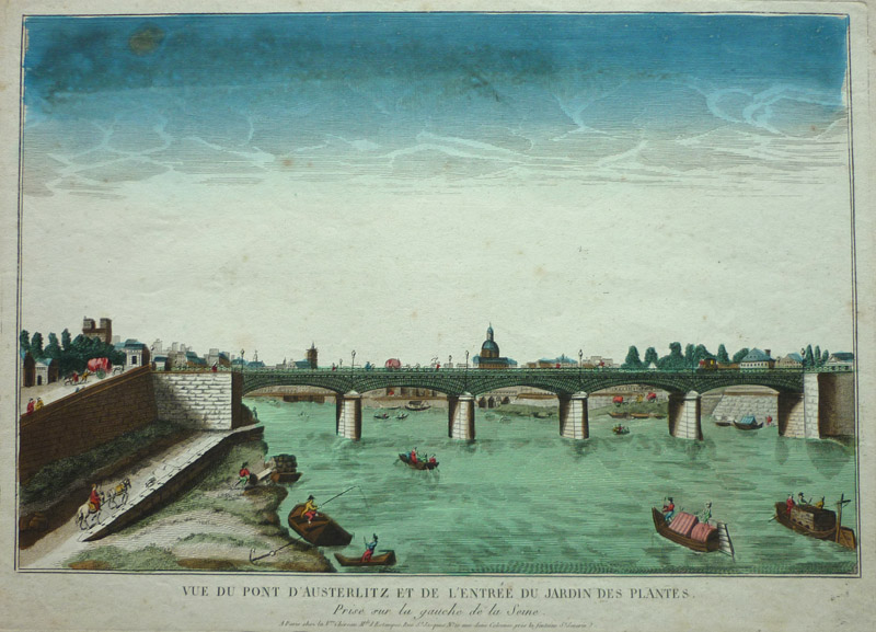 Antiquariat clemens paulusch gmbh ansichten frankreich - Pont du jardin des plantes ...