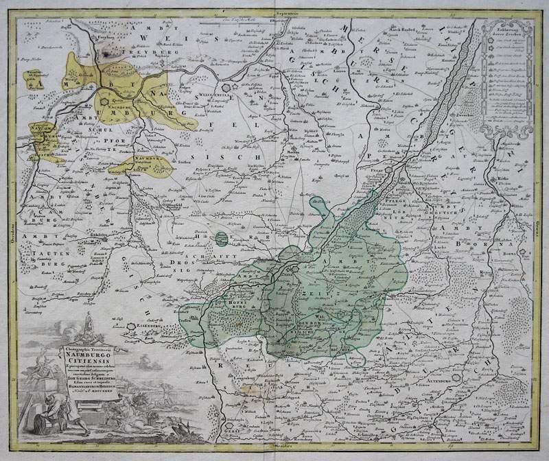 skizze von cum. Gommern(Saxony-Anhalt)