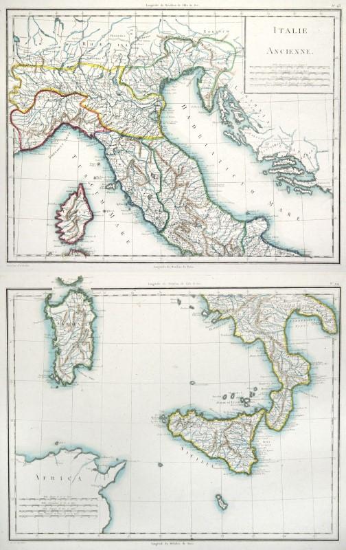 Cartina Europa 1800.Dettagli Su Italia Storico Originale Incisione Cartina Geografica Tardieu 1800