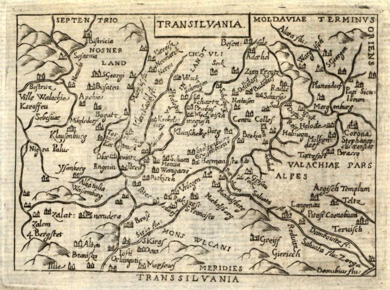 Transilvania Romania Cartina.Romania Transilvania Originale Incisione Cartina Geografica Ortelius 1600 Ebay