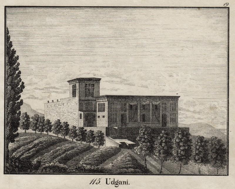 Armenien Udgani Original Lithografie Neue Bildergalerie F D Jugend 1829 Ebay
